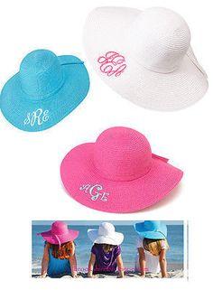 Floppy Beach Sun Hat for Girls – Brookshire Boutique #christmaspresentideas