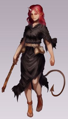 Tiefling, Female