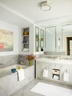 Upper East Side Bathroom   Bath Ideas   Design: Mendelson Group   Photo: Eric Piasecki