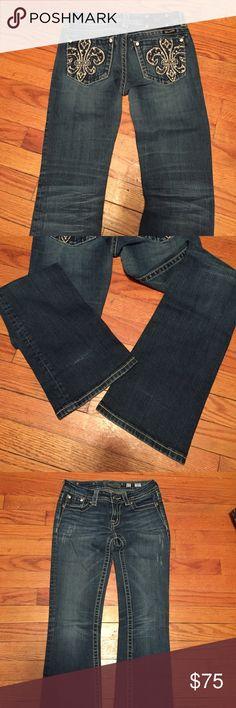 Miss Me jeans EUC inseam 34 Miss Me Jeans Boot Cut