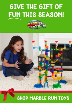 The Marble Run Super Set toy is guaranteed to bring a smile to your kids' faces on Christmas morning! Includes 85 see-through pieces that show the marble action from top to bottom. A fun gift idea for kids of all ages! Birthday List, Birthday Wishes, Marble Toys, Building Toys For Kids, Steam Toys, Super Sets, Child Smile, Learning Through Play, Christmas Toys