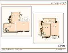 2 coordinated sketches & layered templates for photoshop