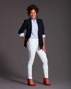 Women's Looks-White Denim for Work Main Photo