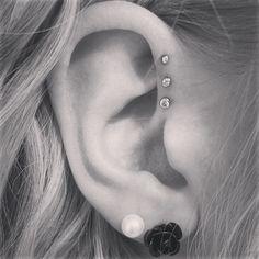 My new ear piercing! Love it :)