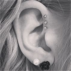 My new ear piercing! Love it :)