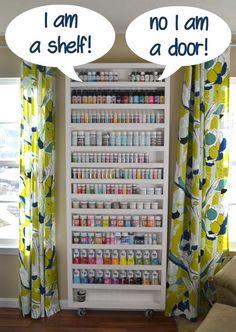 20 Modern and Cool Hidden Doors | http://www.designrulz.com/design/2014/01/20-modern-and-cool-hidden-doors/