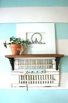 how to make upcycled shelf