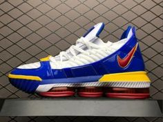 Latest Style Nike LeBron 16 Burgundy White Men's Basketball
