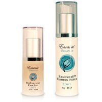 Essante Organic BioEnhanced Two Step Anti Aging Duo Cream & Serum Skincare ~ 1oz Regener8 Firming Serum & .5oz Bio Enhancing Face Lift - Creates 17 times more Collagen Cells for younger looking skin! Try 1 side ~ feel and see the difference by EWW. $124.99. Rejuvinating Collagen Cells Rebbuidlding Collagen Structure - Creates 17 times more Collagen Cells as it rebuilds skin structure. Organic - Firming - Regenerating - Natural with Acai & Sea Buckthorn   - USE...