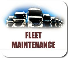 We do fleet maintenance!