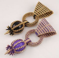 Beading Tutorial for Egyptian Queen Pendant jewelry pattern