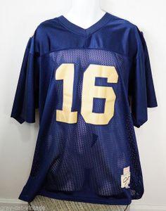 d010cf7e4 VINTAGE True School Authentics Joe Montana Notre Dame 1978 Football Jersey  54