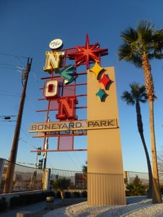 The Neon Museum is a must see in Downtown Las Vegas  Vegas travel tips | Downtown Vegas Travel Guide