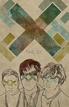 The XX gig poster
