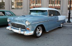 1955 chevy... a dating machine in the late sixty's