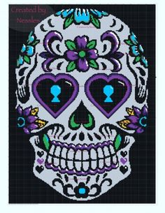 Crochet Pattern Round-Up: Sugar Skull Designs | Crochetville