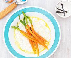 Vanille-Risotto mit Karotten - Rezept - Saisonküche