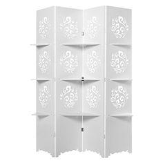 Elegant Cut-Out Design White 4 Panel Folding Screen Room ... https://www.amazon.com/dp/B01FJ4Q7L2/ref=cm_sw_r_pi_dp_x_IrzXybR24YPQM
