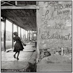 A few photographs from Haiti, made by Danny Lyon in the 1980s...