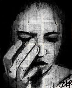 """Saatchi Online Artist Loui Jover; Drawing, """"forever"""" #art- need to see if i can paint this..."""