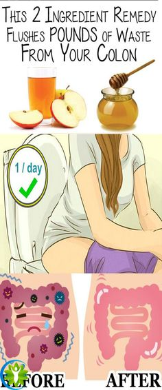 Remove 20 pounds of toxins from the colon with only 2 ingredients