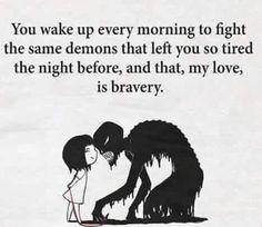 be brave my dear