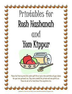 Rosh Hashanah and Yom Kippur Printables.pdf