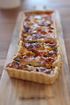 Quiches, Salty Tart, Brie Bites, Good Food, Yummy Food, Tart Recipes, Some Recipe, Easy Meals, Food Porn