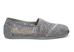 let loose this weekend in some silver crochet women's classics