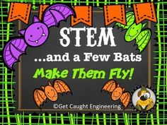 Lets go batty with STEM! With a simple zip line made with fishing line and easy to gather materials, you will have an engineering activity that combines force, motion, gravity, and group problem solving. Packet includes student pages, teacher notes, group roles, inquiry questions, a rubric and the engineering design process poster.***** (NOTE: This is the same activity as the Peter Pan lesson but with a bat theme.