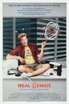 Real Genius Movie Poster 24x36 #01