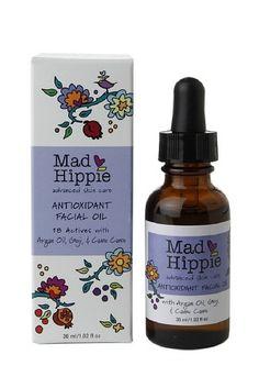 Mad Hippie Antioxidant Facial Oil - 1.02 oz Anti Aging Facial, Facial Oil, Beauty Secrets, Diy Beauty, Facial Care, Hemp Oil, Argan Oil, Organic Skin Care, Flower Power