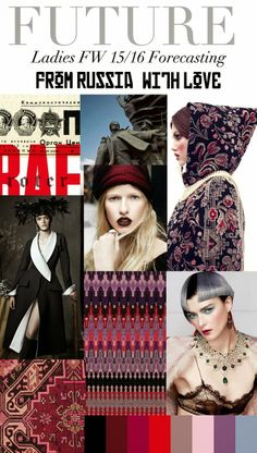 FASHION VIGNETTE: TRENDS // FALL/WINTER 15/16 - FROM RUSSIA WITH LOVE
