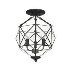 Home Decorators Collection - Grayton Collection 3 Light Semi-Flushmount - 22687-036 - Home Depot Canada