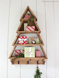 Ana White | Tree Wall Shelf - DIY Projects