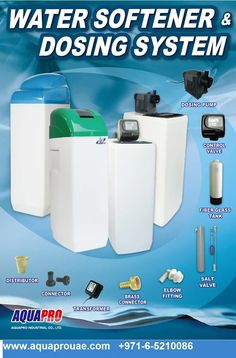 Best Water Softener Dealers In Dubai Get In Touch With Us For More Water Filtration System In Uae Water Softener Water Softener System Water For Health