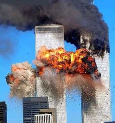 9/11  A hijacked passenger jet crashed into the south tower of the World Trade Center in New York City on September 11, 2001 fifteen minutes after another hijacked jet crashed into the north tower. Both the skyscrapers collapsed and about 3,000 were killed. It has been the biggest act of terrorism against the US.