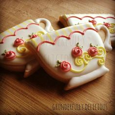 Tea Cups Cookies. By Grunderfully Delicious.