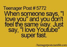 Hahaha! You know you just said it ;)