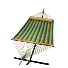 Reversible Quilted Hammock Bed - Black Forest