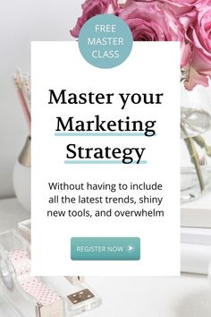 This contains: Free Marketing Masterclass: Get my simple 5-Step Framework to Grow your Service Business... WITHOUT having to include all the latest trends, shiny new tools, and overwhelm. So you can master your marketing strategy, attract consistent clients, and grow. Hosted by Hayley Robertson, Marketing Coach and Business Mentor. Register today! #marketingstrategy #marketingtips #businessstrategy #coaches #consultants #serviceprofessionals #marketing Marketing Budget, Small Business Marketing, Business Tips, Online Business, Marketing Strategy Template, Content Marketing Strategy, Business Entrepreneur, Master Class, Latest Trends