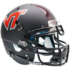 Old Ghost Collectibles - Virginia Tech Hokies NCAA Schutt XP Matte Black Full Size Authentic Football Helmet, $168.99 (http://www.oldghostcollectibles.com/virginia-tech-hokies-schutt-full-size-authentic-matte-black-xp-football-helmet/?page_context=category