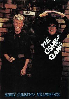 eigagaga: David Bowie and Nagisa OshimaFrom Merry Christmas Mr. Lawrence programme.