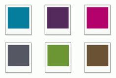 Room colour pallet