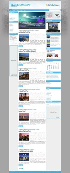 BlueConcept - Download Free WordPress Theme by ThemePix