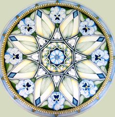 Poppy Mandala by hollizollinger on Etsy