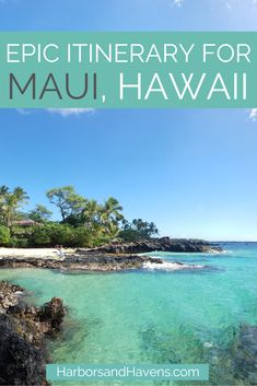 bucket list pictures This five-day Maui itinerary is full of Uncover hidden beaches and bucket-list busting experiences. Find the best Maui beaches, snorkeling, hiking and more. Maui Hawaii, Maui Beach, Hawaii Honeymoon, Kahului Hawaii, Best Beaches In Maui, Hawaii Life, Maui Jim, Honeymoon Destinations, Holiday Destinations