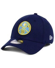 New Era Denver Nuggets Team Classic 39THIRTY Cap - Blue L/XL