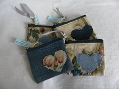 recycled fabric purses.