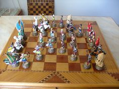 Great Siege of Malta 1565 A.D. The chess set depicts the conflict between Ottoman forces sent by Sulieman the Magnificent and the Knights of St. John. The pieces are made of pewter designed and cast in our Studio in Malta.